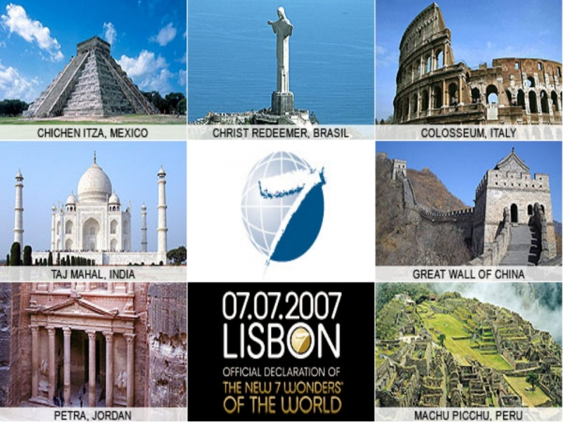 EnglishPod.com - Global View - The 7 Wonders Of The World