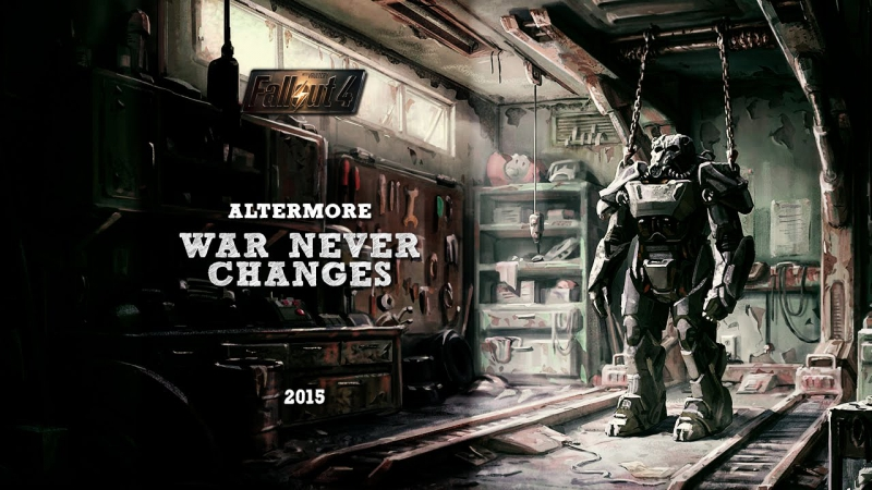 Fallout 4 - War, war never changes