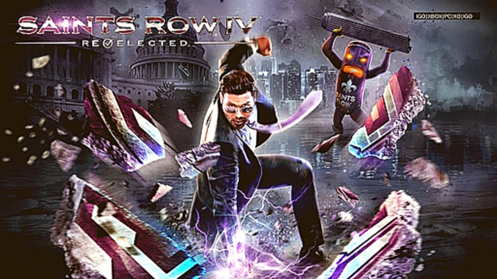 Saints Row IV Re-Elected- начало игры (XBOX ONE)