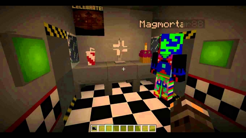 Five Night At Freddy's - FNAF minecraft blocks