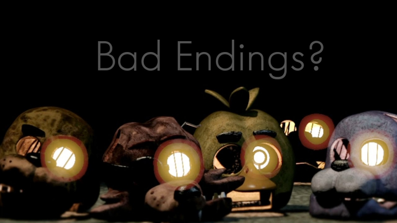 Five Nights at Freddy's 3 - Bad Ending