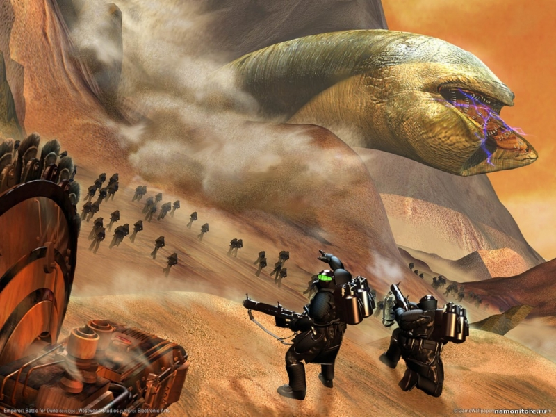Frank Klepacki - Emperor Battle for Dune - Video - O12 F02E 9-16-22k