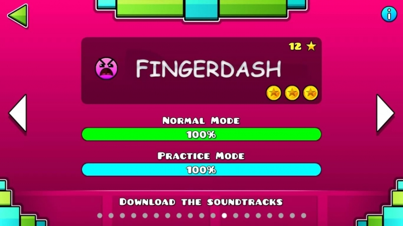Geometry Dash 2.1 - FingerDash