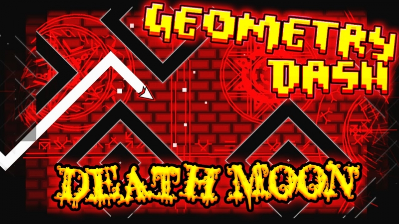 Geometry dash - Death Moon