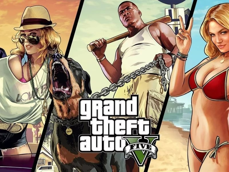 Grand Theft Auto 5 - The Long Stretch Gunfight Music