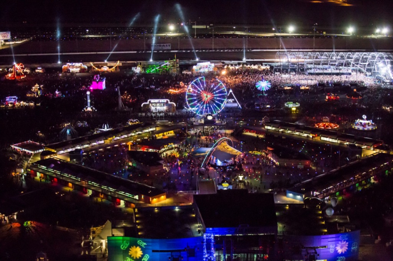 Live at EDC Las Vegas 2014