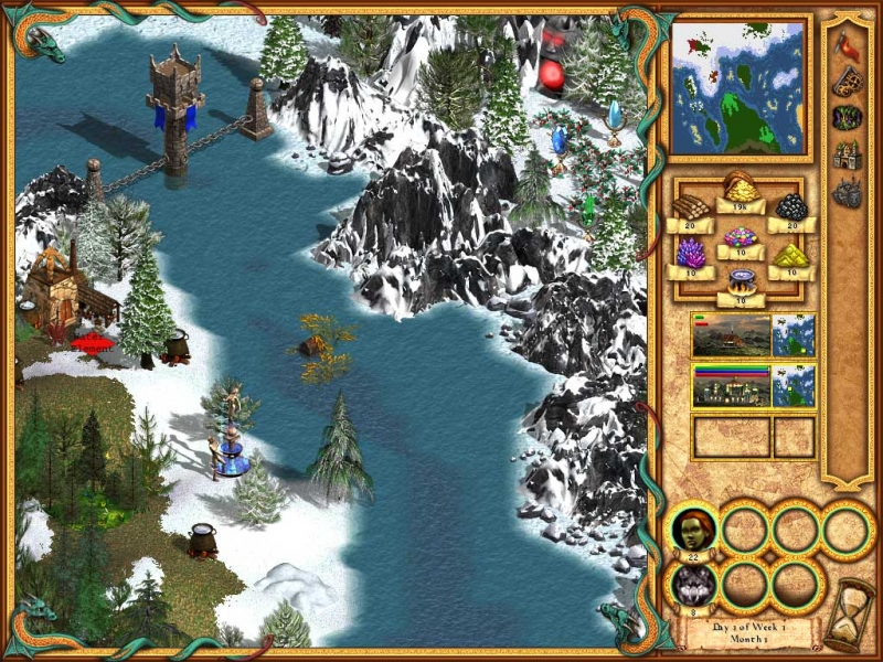 Heroes of Might and Magic 4 - Water