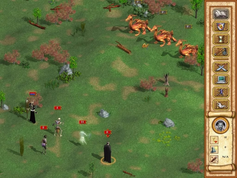 Heroes of Might and Magic IV - The sands