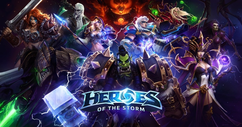 Heroes Of The Storm - Kings Crest Dark Alternative Ambient