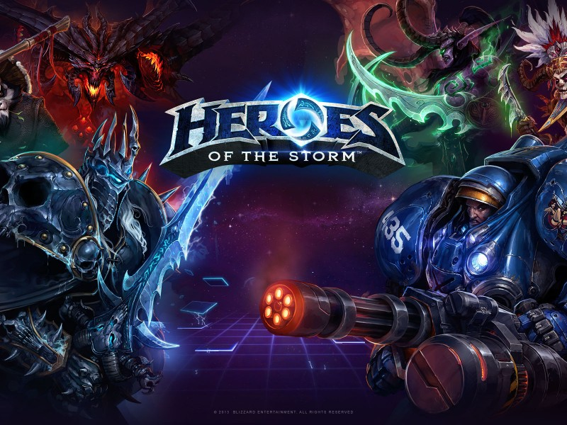 Heroes Of The Storm - Menu Theme