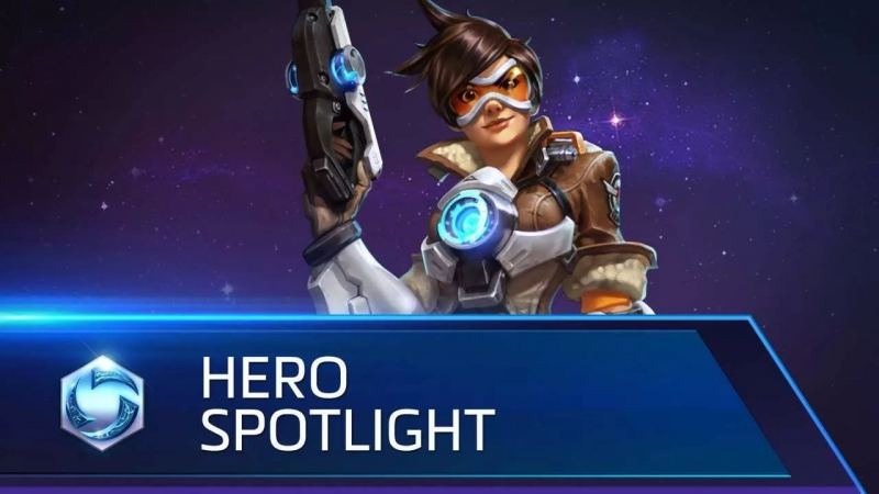 Heroes of the Storm - Tracer Theme Alt.