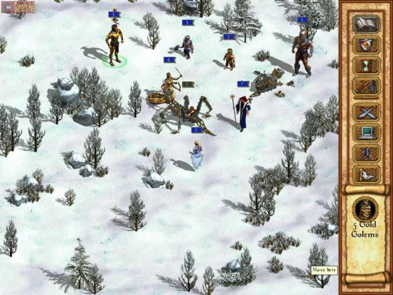 HOMM 4 - Battle V OstHD Heroes of Might and Magic 4