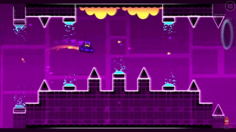 игра Geometry Dash - xStep 10 уровен