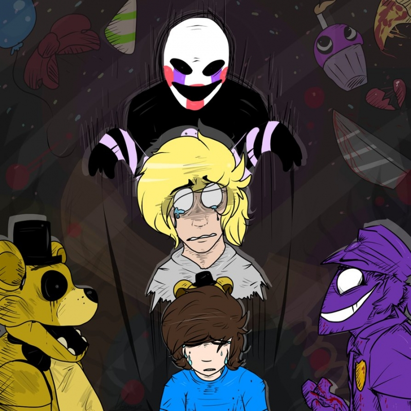 The Living Tombstone - It's Been So Long FNaF 2