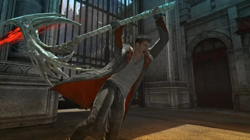 Из игры DMK - Devil May Cry 3
