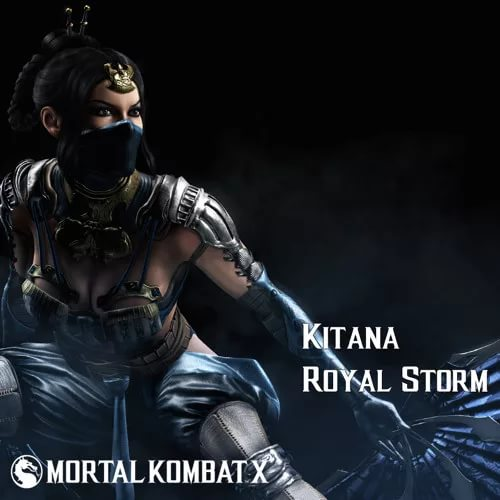 Mortal Kombat X - Kitana Royal Storm Theme