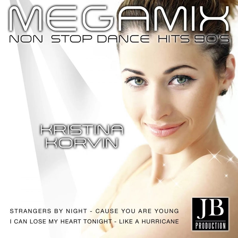 Kristina Korvin - C.C. Catch Medley Strangers by Night / Cause You Are Young / I Can Lose My Heart Tonight / Midnight Gambler Non Stop Dance Hits\' 90