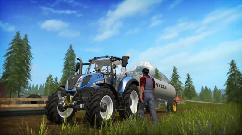 Launch trailer 2017 - Farming Simulator