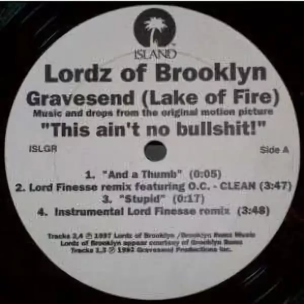 Lordz - of brooklyn lake of fireost Splinter cell conviction