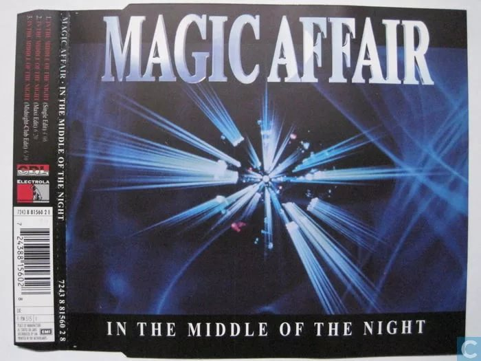 Magic Affair - In The Middle Of The Night Midnight-Club Edit
