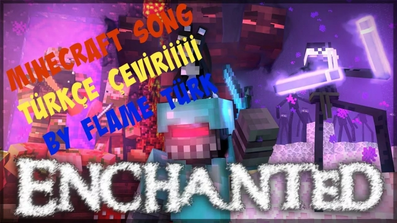 -A Minecraft Music Video Parody -'Enchanted' -