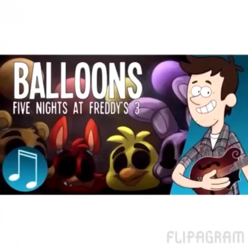 'Balloons' - Five Nights at Freddy's 3 Song
