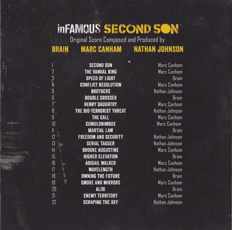 Marc Canham - Smoke and Mirrors [inFamous Second Son OST]