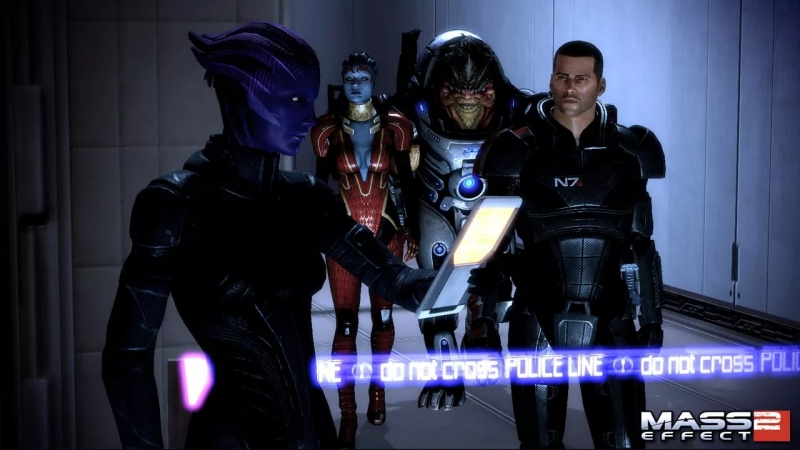 Mass Effect 2 - Huddle Fail