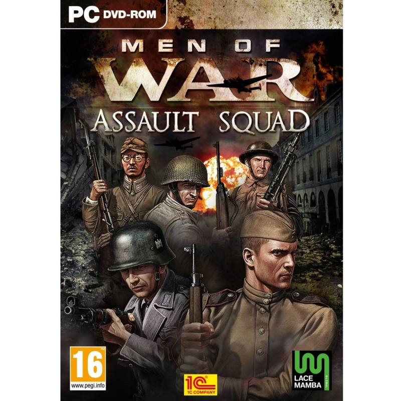 Men Of War 2 Assault Squad (В тылу врага 2 Штурм) - Бой Япония