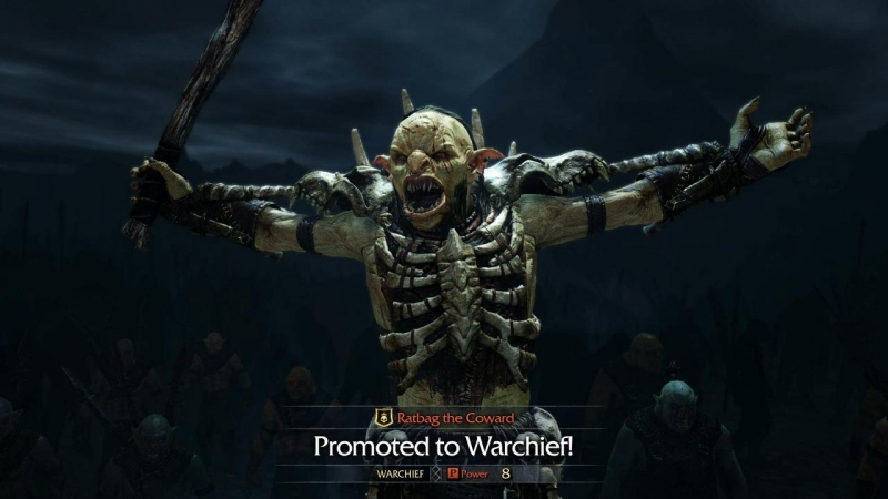 Middle Earth Shadow Of Mordor - Warchief