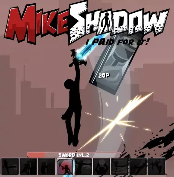 Mike shadow - I paid for it -Special