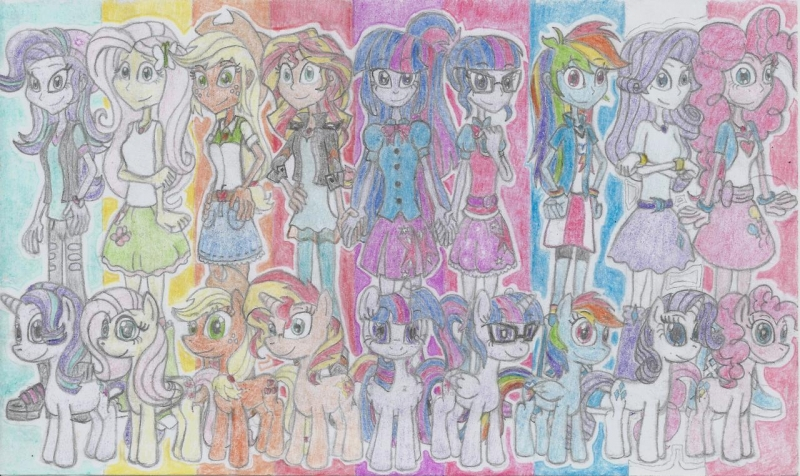 MLP Equestria Girls - My Little Pony Friends