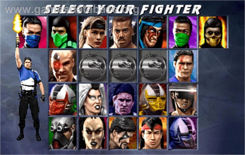 Mortal Kombat 2 - Select Your Fighter Arcade