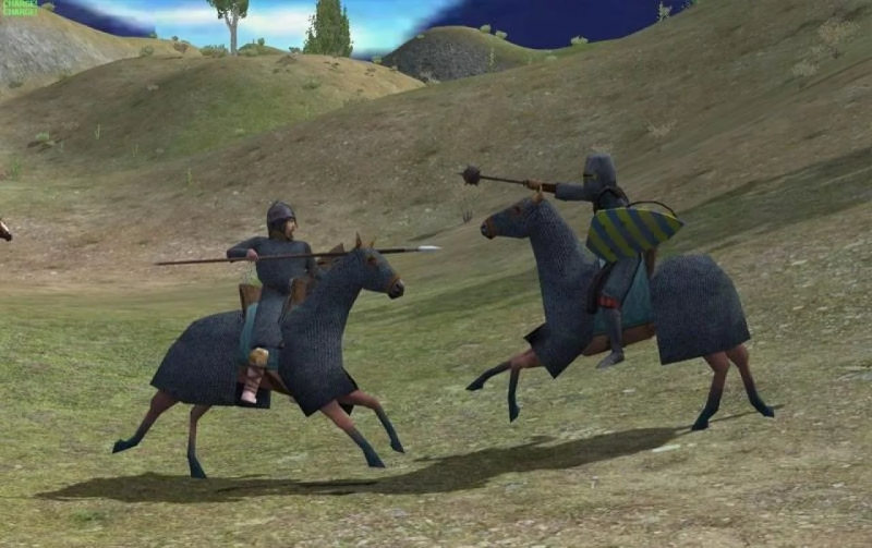 mount and blade - title screen