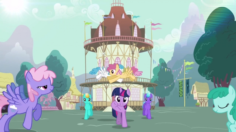 My Little Pony FiM - Morning In Ponyville