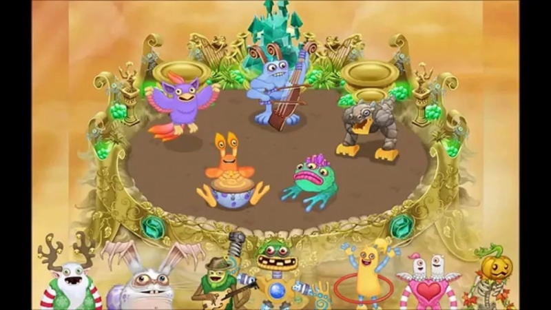 [My singing Monsters] Gold Island - Wubbox