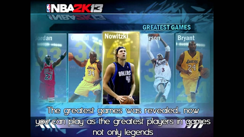 NBA 2K13 - Greatness