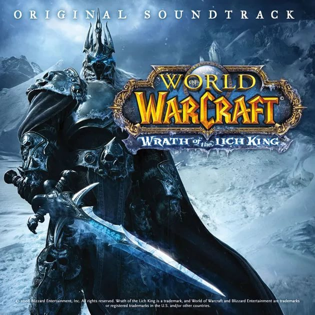 Neal Acree - Arthas, My Son из игры World of Warcraft Wrath of the Lich King