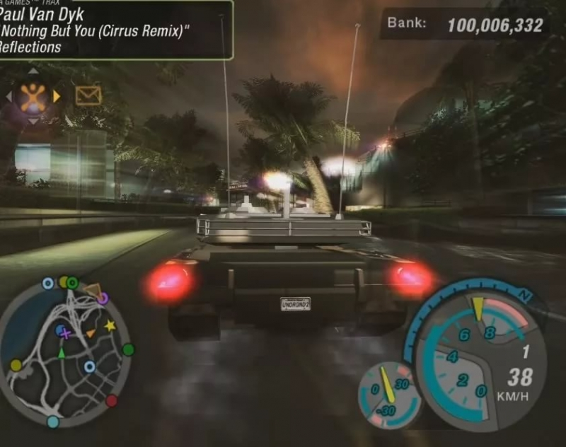 Need For Speed Underground 2 - Nothing But You Cirrus Remix