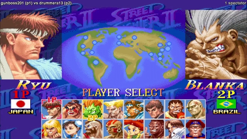 02 - select - Street Fighter 2 Turbo LIVE