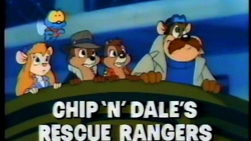 Неизвестен - Chip and Dale Rescue Rangers Theme Song - Portuguese