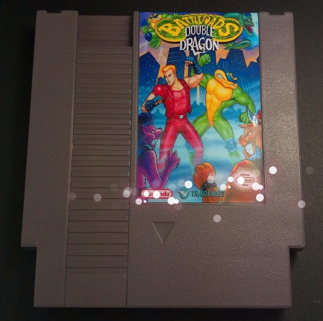 (NES) Battletoads & Double Dragon
