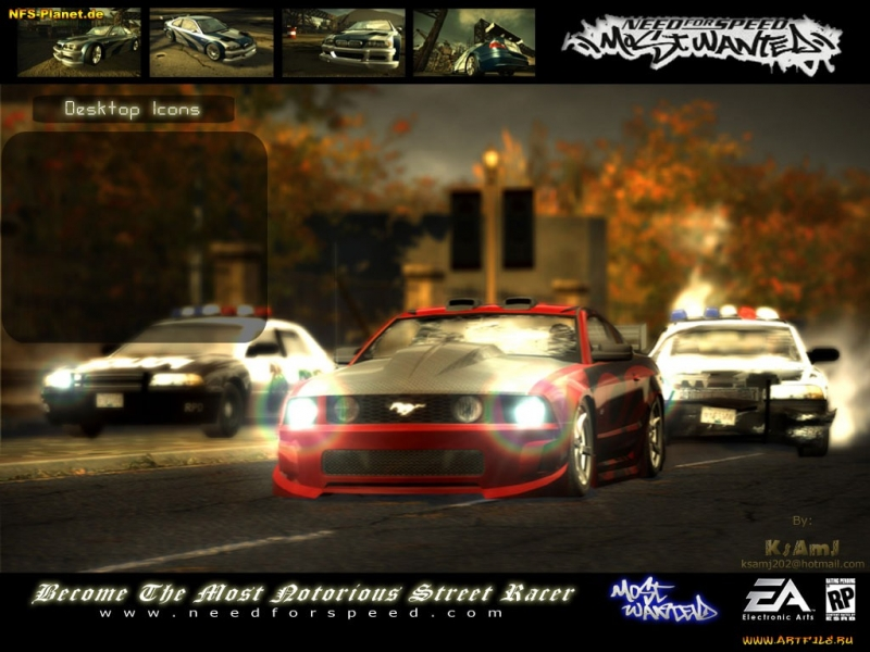 (NFS MOST WANTED 2005) Mastodon