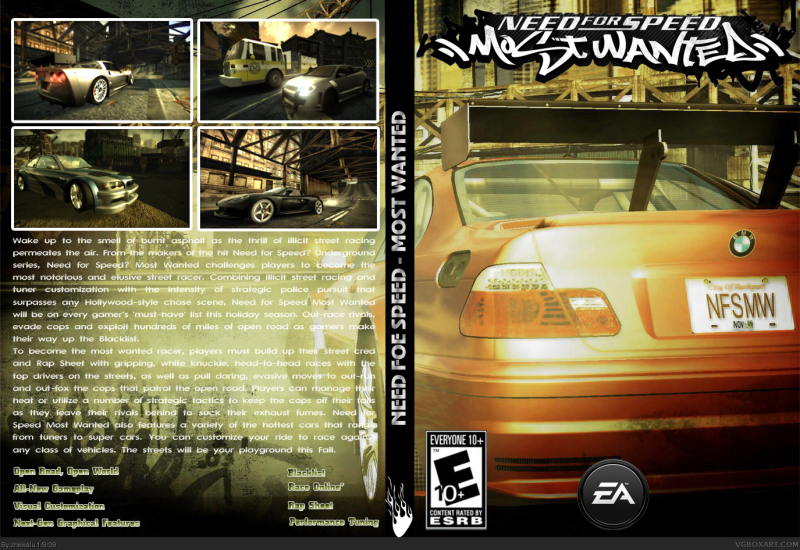 NFS Most Wanted - Track 1