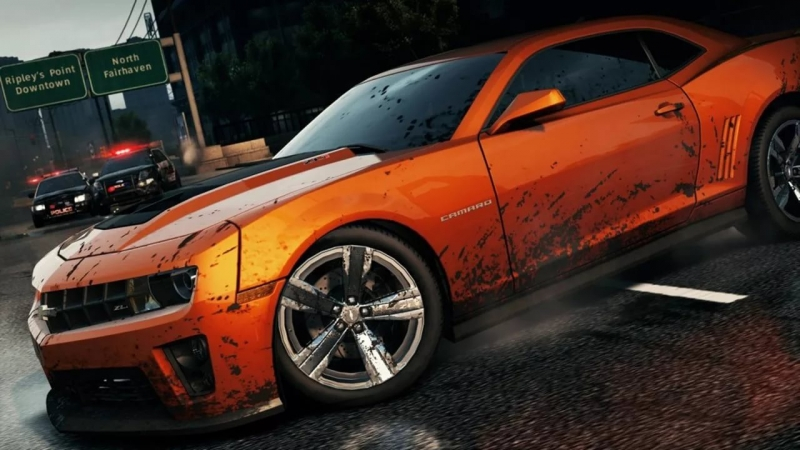 NFS MOST WANTED - treak 1