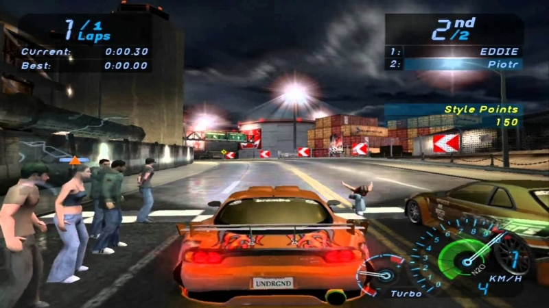 NFS Underground 1 - need for speed