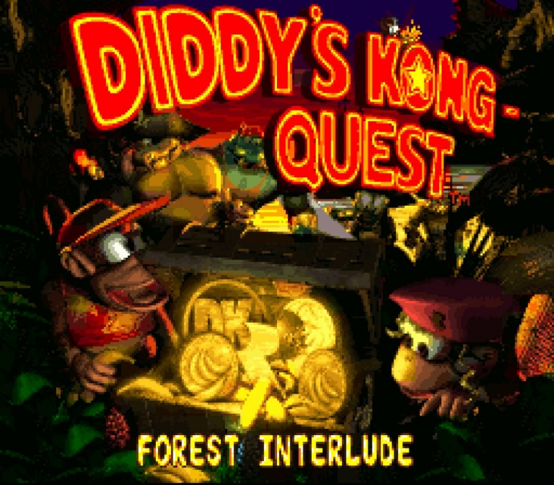 OST Donkey Kong Country 2 - Mining Melancholy