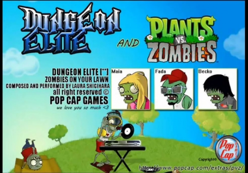 OST Князь Владимир 2Вперёд в Будущее. - [14] Plants vs. Zombies - There's a Zombie on Your Lawn на русском