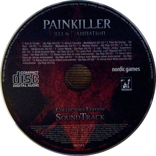 OST Painkiller Hell & Damnation - White Knuckle Ride Ojo Rojo