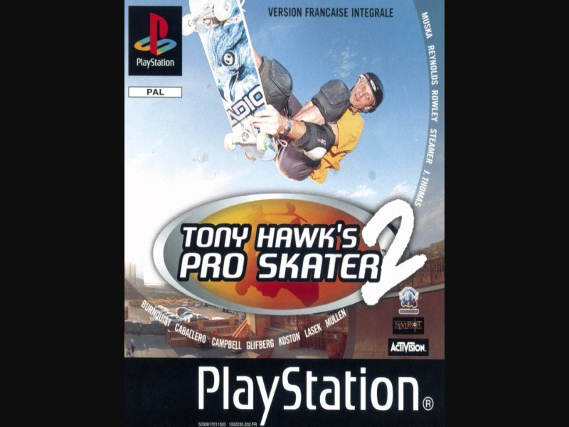 ost tony hawks pro skater 2 - naughty by nature - pin the tail on the donkey